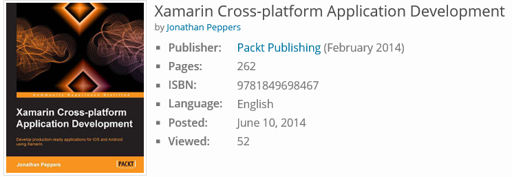 Xamarin Cross-platform Application Development