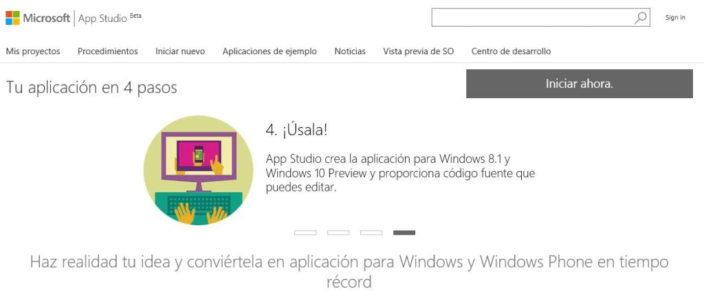 Appstudio-Windows10