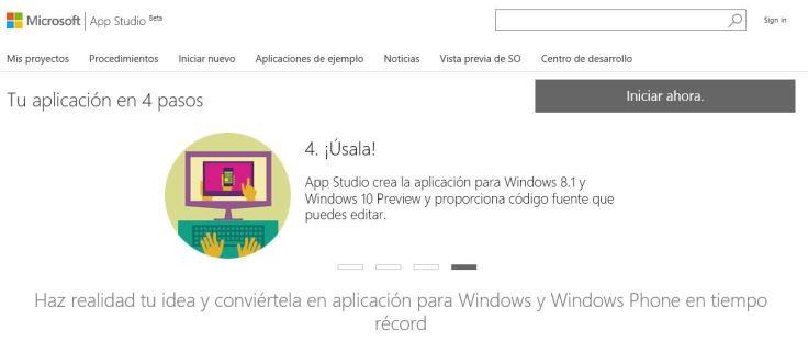Appstudio-Windows10