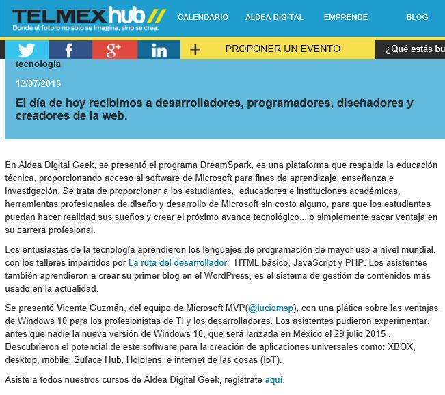 Telmex Hub Blog