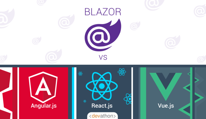 Blazor vs React Angular & Vue - Devathon - Medium
